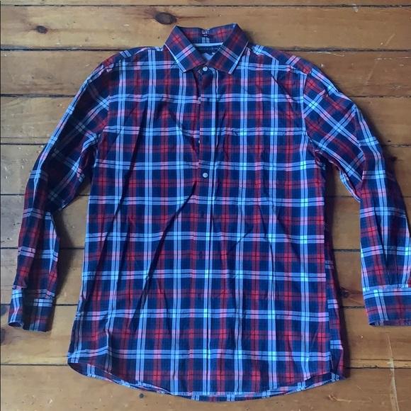 c8ff0327 Tommy Hilfiger Shirts   Plaid Slim Fit Mens Dressshirt   Poshmark